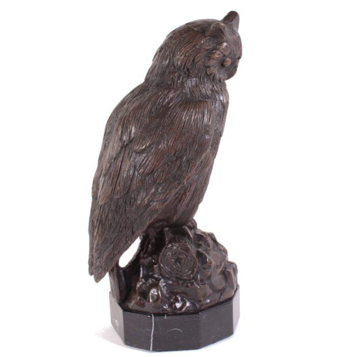 Bronzen Dierenbeeld Uil