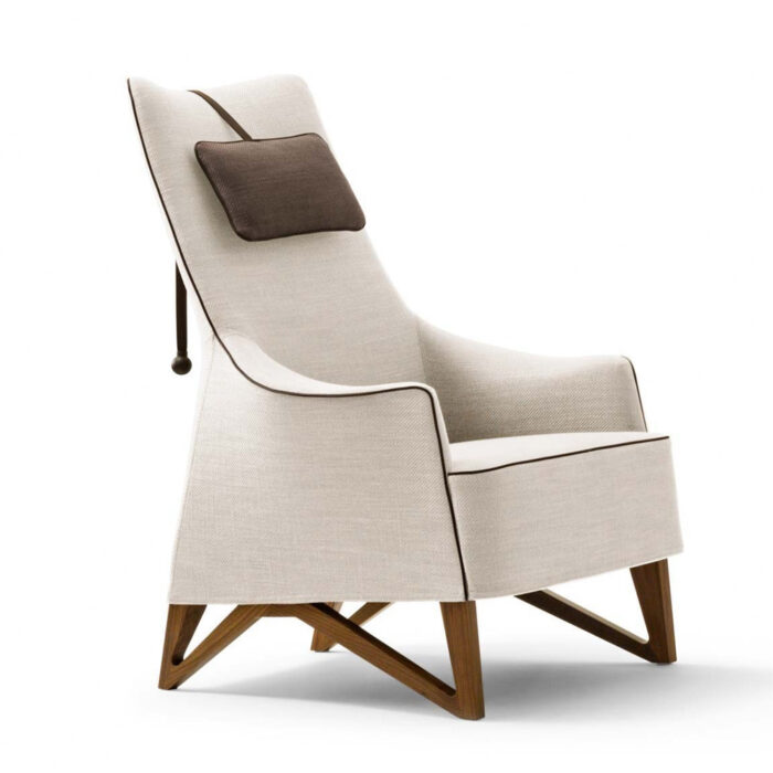 Giorgetti Mobius Wing Chair 63940