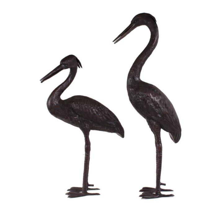 Bronzen Beelden Reigers