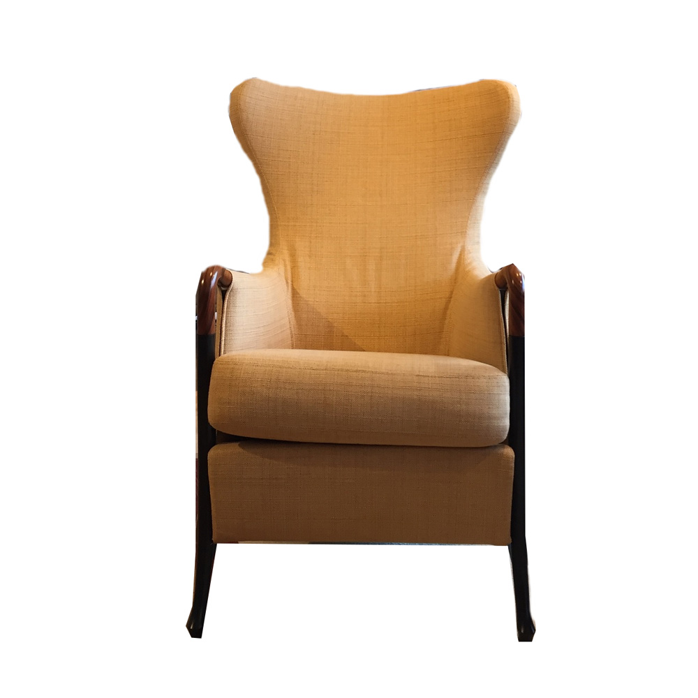 Hoes voor Giorgetti Progetti Wing chair 63340 Van den